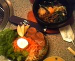 ビビンバと冷麺